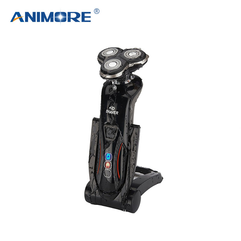 ANIMORE 4D Rechargeable Electric Shaver For Men Whole Body Washing Electric Shaving Beard Shaving Machine Razor ES-02B runwe 4d electric razor electric shaver shaving machine with beard