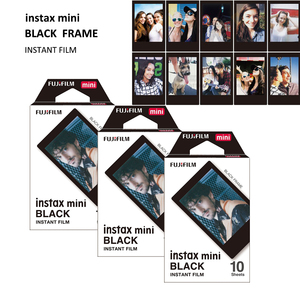 Image 3 - 30 Lenzuola Genuine Fujifilm Instax Mini Telaio Nero Pellicola Per Conferma Mini 11, 7s, 8, 90, 70, 25, 50s, Macchina Fotografica SP 1/2