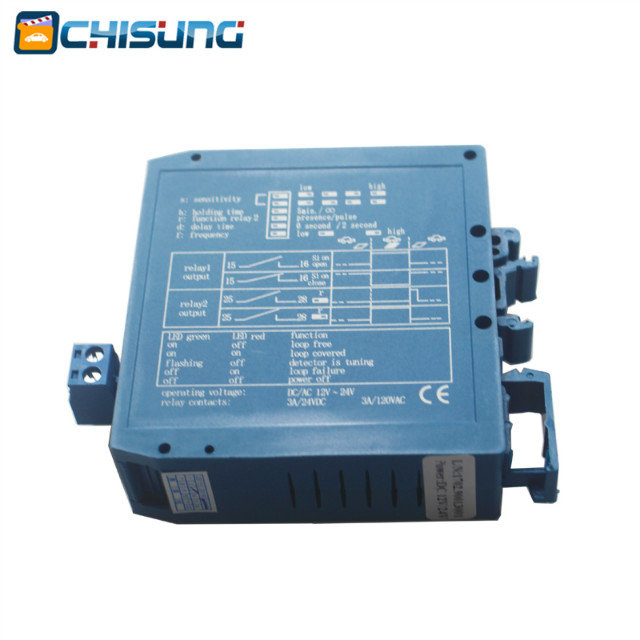 AC/DC Loop Detector High Quality Inductive Single Loop Vehicle Loop Detector For Parking