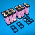El Envío Gratuito! 18650 soporte de la batería caja de plástico caja de baterías Li-ion 18650 batería de litio cilíndrica 2 P titular