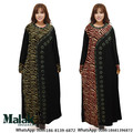 Malásia Indonésia Vestido de Túnica Árabe vestido jupe mulher estilo manteau Malásia Muçulmano Kaftan Abaya Jilbab Islâmico Desgaste