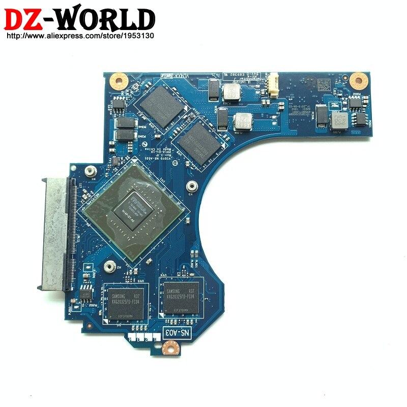 Nouvelle carte originale VIQY0 2ND VGA NS-A031 pour lenovo ideapad Y510P carte graphique GPU carte vidéo N14P-GT1-A2 GT750M 90002551