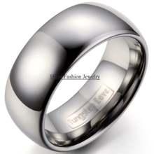Высокое качество 9 мм серебряный цвет Классический Купол мужское