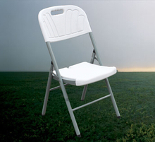 HDPE plastic folding chair portable outdoor chair for training conference portable folding computer chair