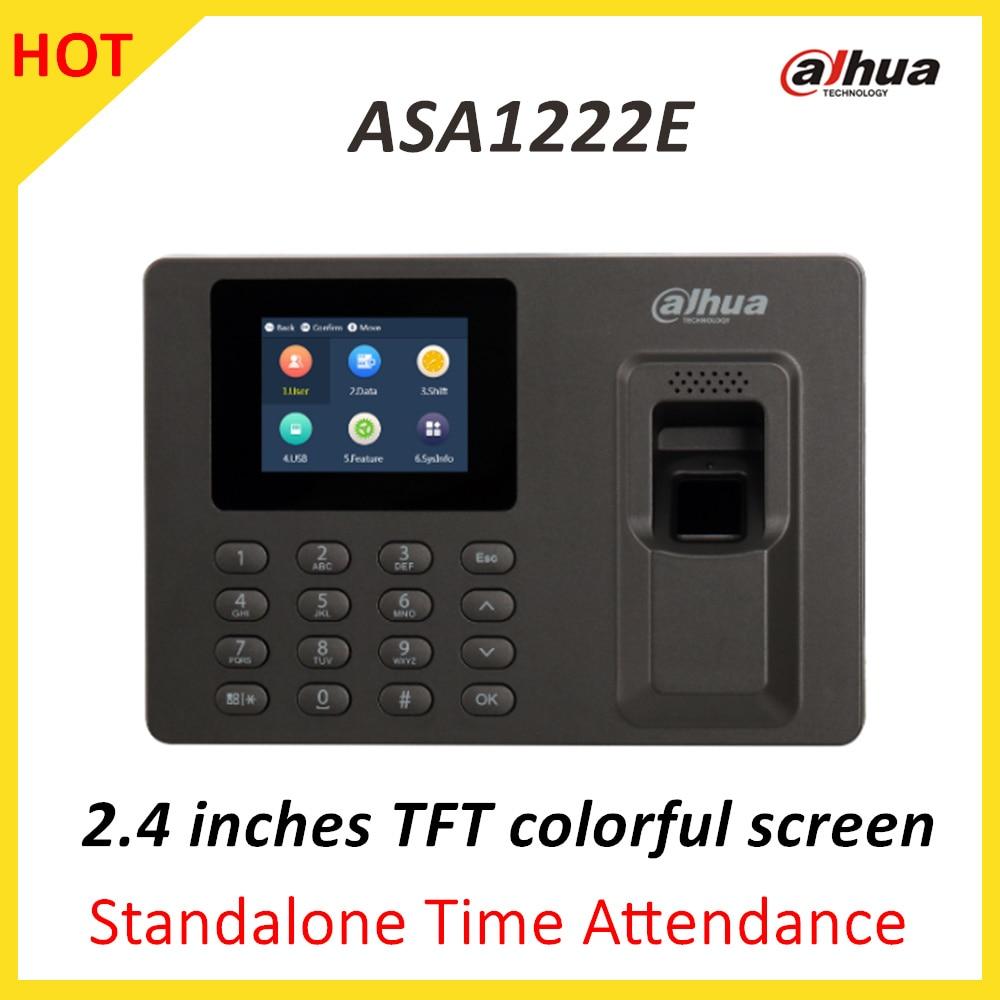 Dahua ASA1222E Standalone Time Attendance 2.4 inches TFT colorful screen Multiple verification methods Voice indicate 32 bit asa larsson veresüü