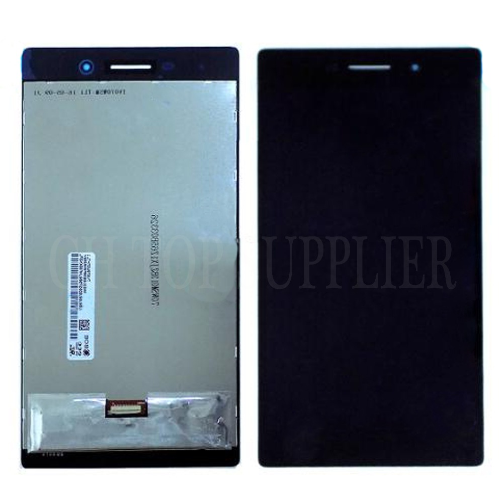 For Lenovo Tab 3 7 730 730M 730F 730X TAB3-730M LCD screen with Touch Screen Panel Digitizer assembly replacement for lenovo tab3 3 7 730 tb3 730 tb3 730x tb3 730f tb3 730m 7 inch lcd display with touch screen digitizer assembly