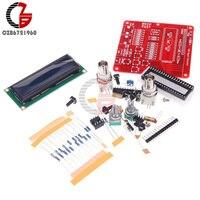 DIY 키트 2*16 LCD 디스플레이 메뉴 AVR DDS 신호 발생기 기능 발전기 모듈 사인 광장 톱니 삼각형 웨이