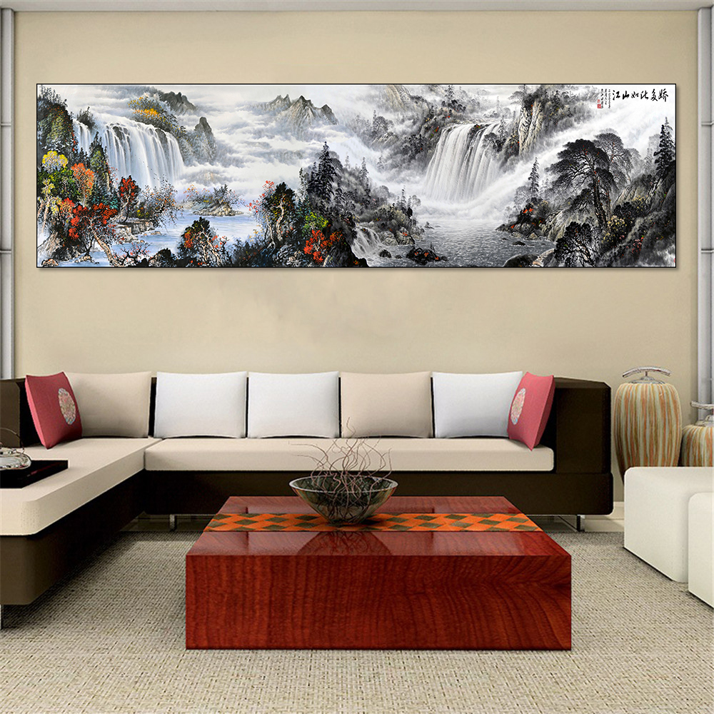 Buy mountain water print and get free shipping on AliExpress.com
