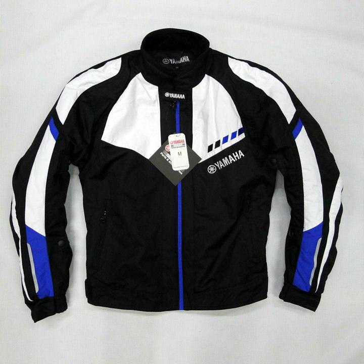 Мотоцикл спортивный Текстиль Оксфорд синий черный куртка для YAMAHA езда гонки Спортивная велосипед одежда