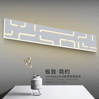 Simple Modern LED Wall Sconce Fashion Acrylic Mirror Wall Lights Fixtures For Home Indoor Lighting Bathroom Lamp Lampara Pared купить