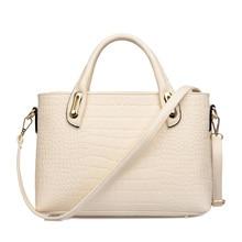 Elegant Luxury 2016 New Ladies font b Handbag b font Fashion Crocodile print Simple Crossbody Bag