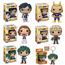 FUNKO POP Anime My Hero Academia Character Deku Katsuki All Might TODOROKI Vinyl Action Figure Collection Toys for children(China)