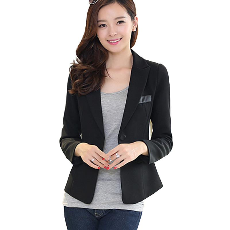 KashiDi Brand women blazer casual feminino ladies formal blazers jackets  blazer outwear professional dress clothes size S 3XL-in Blazers from Women s  ... eb6727a330