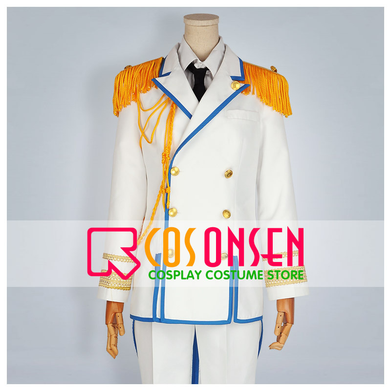 COSPLAYONSEN Uta no Prince Sama Debut Shining All Star CD Military Uniform Cosplay Costume+Hat