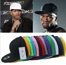 2018 Fashion baseball caps snapback hats and cap plain design hippop dancing cap adjusted 1pc