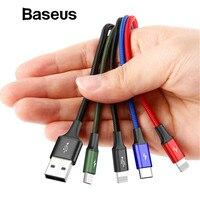 Baseus 4 в 1 взаимный обмен данными между компьютером и периферийными устройствами кабель для передачи данных для iPhone X xs max Зарядное устройство ...