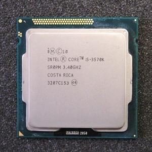 Image 2 - Intel Core i5 3570K 3.4GHz 6MB 5.0GT/s SR0PM LGA1155 CPU Processor