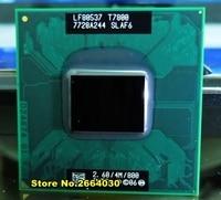Free Shipping Intel CPU Laptop Core 2 Duo T7800 CPU 4M Socket 479 Cache 2 6GHz