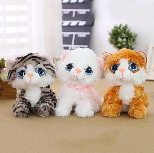 Candice Guo Simulasi Mewah Mainan Stuffed Boneka Kartun Hewan Kucing eab63ed29c