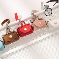 New creative coin purse keychain Car key ring Female bag pendant Fashion personalized key ring Jewelry key chains Various Colors