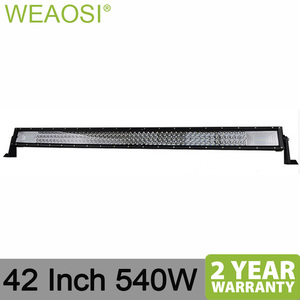 504W 42 inch LED light bar off