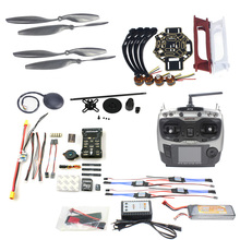 JMT DIY FPV Drone Quadcopter 4-axle Aircraft Kit 450 Frame PXI PX4 Flight Control 920KV Motor GPS AT9 Transmitter Props