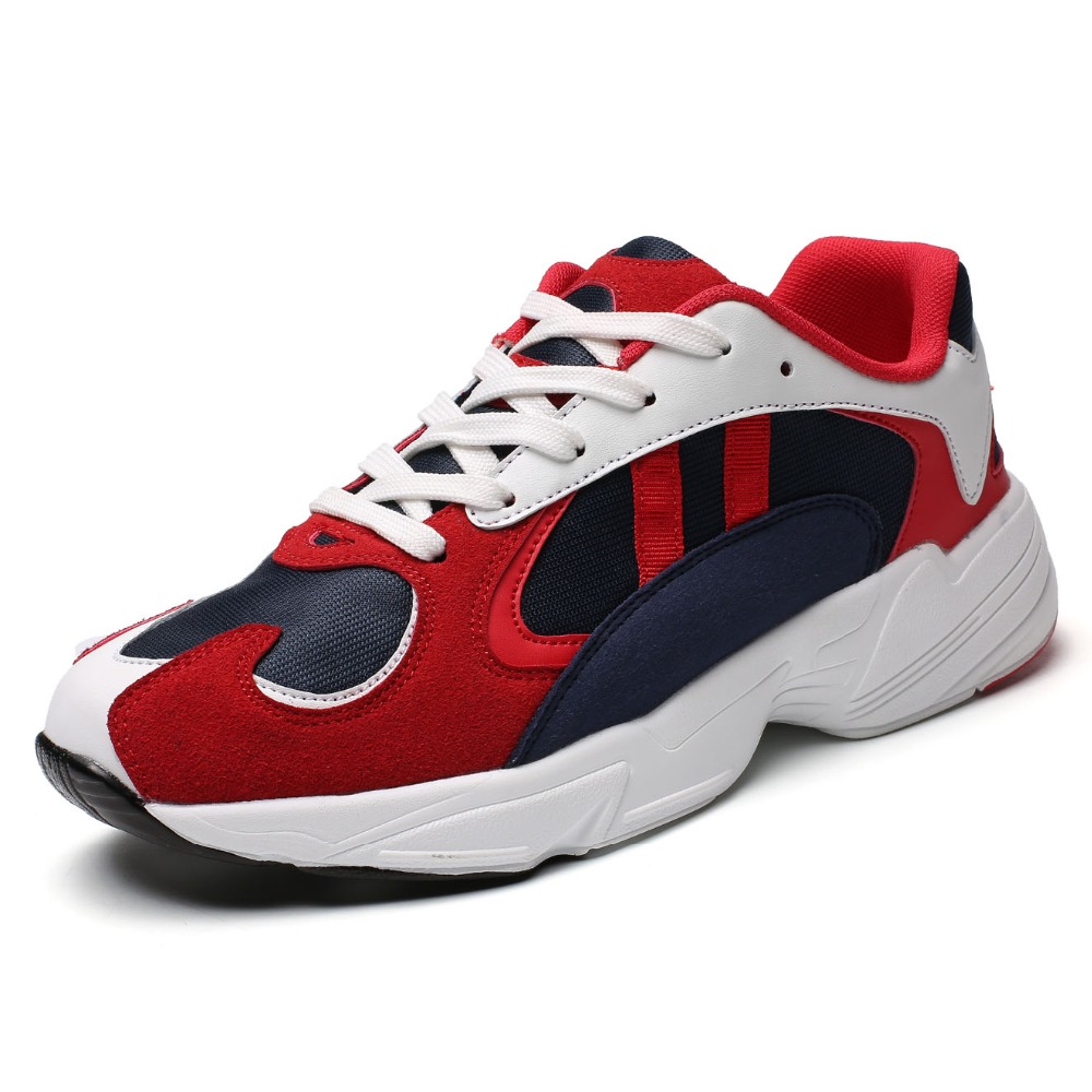 Hommes chaussures Sport course chaussures pas cher 2018 marque baskets chaussures lumineuses Zapatillas Hombre Deportiva respirant Masculino Esportivo