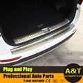 2016 2017 modelo do carro styling para Kia Sportage KX5 alta qualidade aço inoxidável traseiro Externo placa de proteção de guarda 1 pcs Acc Carro