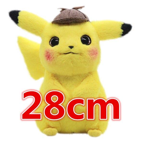 Detective pikachu Stuffed Toys Japan Anime Game Dolls toys for Boy Cherry blossom head Lady Pikachu Shout Pikachu