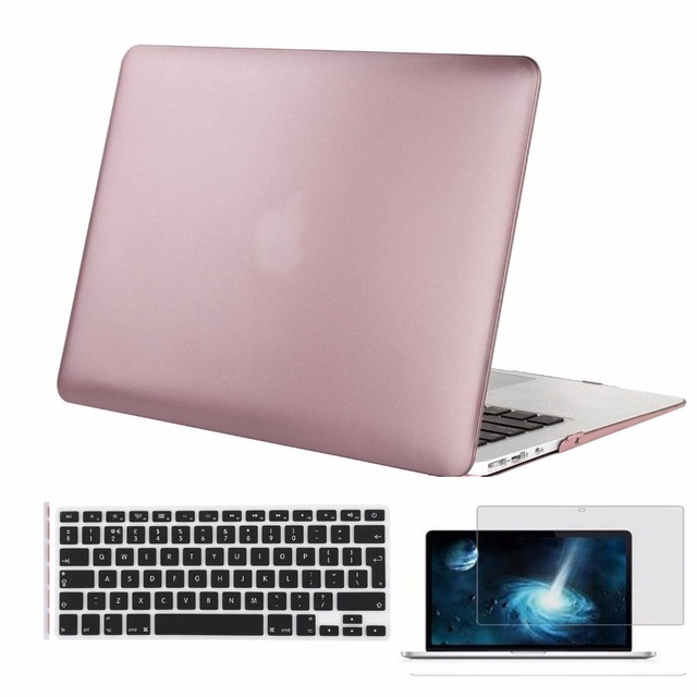 """MOSISO For Mac Book Air 13 Inch Plastic Hard Case Cover For Macbook Air 13.3"""",13.3'' Retina For Apple 13.3'' Sleeve Cover Shell"""