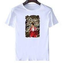 bc73a7859 T Shirt men'S Short Short O-Neck Panic At The Disco Panic At The Disco T  Shirt Joke T Shirts woman blouse 2019 spring summer