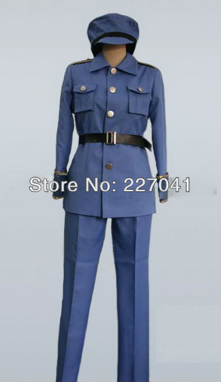Axis Powers Hetalia Sweden cosplay costume