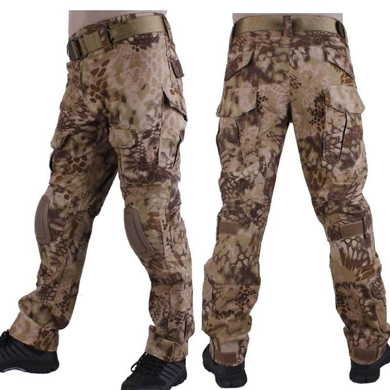 0cd2d72ce0cf6 Kryptek Highlander Camouflage G2 Army BDU Pants Military Tactical Combat  Pants Men Battlefield Airsoft Sniper Hunting