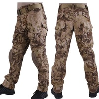Kryptek Highlander Camouflage G2 Army BDU Pants Military Tactical Combat Pants Men Battlefield Airsoft Sniper Hunting Trousers