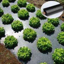 Tewango Biodegradeable контроль сорняков мульча пленки сплавов овощей Патч Границы предотвращения насекомых 0,8 s PE пленки 1 м x 30 м