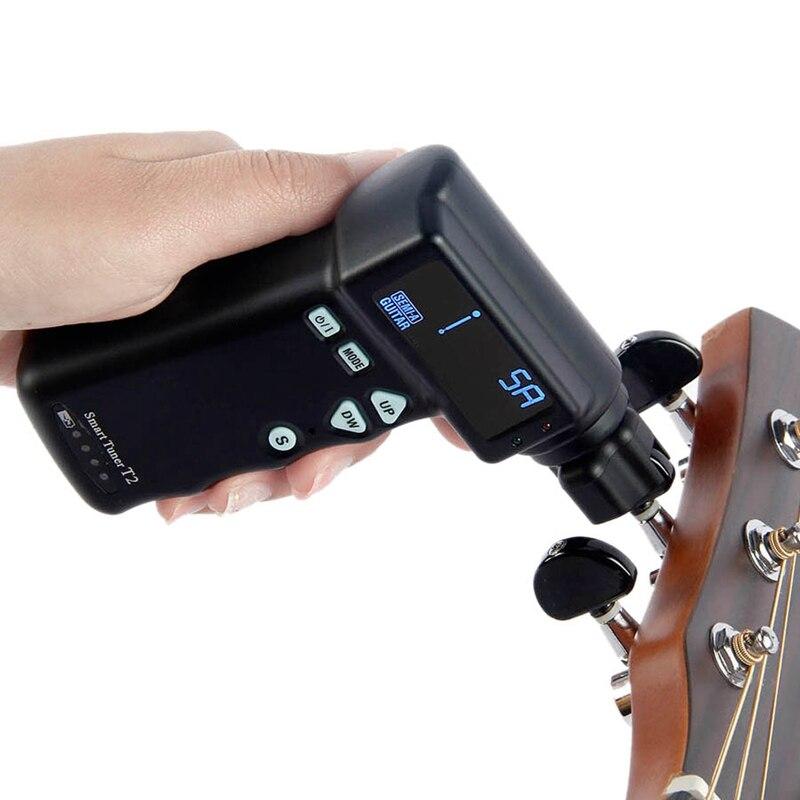 Enrouleur de guitare accordeur de guitare Portable enrouleur électrique Instrument de musique Smart String enrouleur de cordes guitare réparation automatique Equi - 6