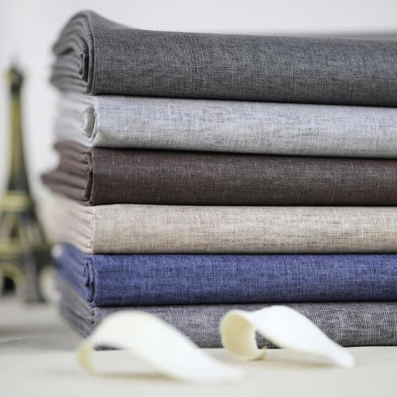 1 meter diy sewing fabric waterproof coating felt linen for Cloth material for sewing