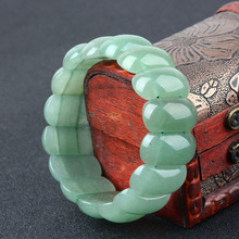 Natural DongLing Jade Bracelets Hollow Carving Holy Device Jewelry For Women Men Gifts