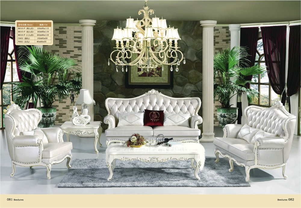 US $2050.0 |2019 Armchair Chaise Bag Chair Promotion European Style Antique  No Sofas For Living Room Hot Sale Luxury Euro Classic Sofa Set-in Living ...