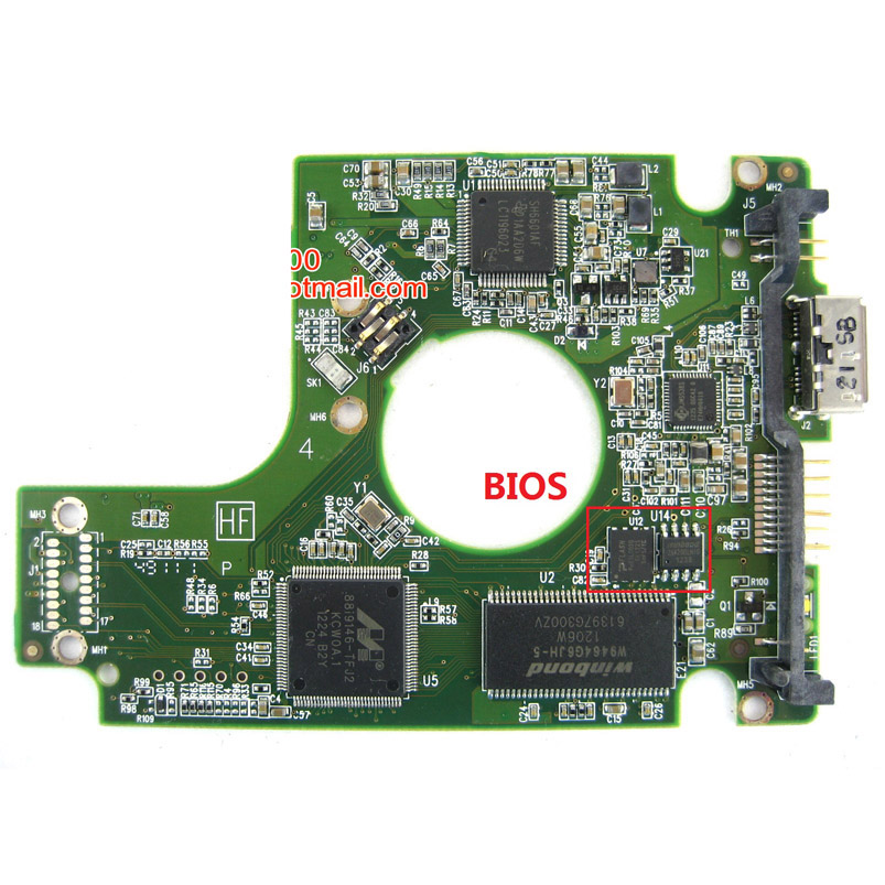 HDD PCB Circuit Board 2060-771761-001 REV A/P1 For WD 2.5 SATA Hard Drive Repair Data Recovery
