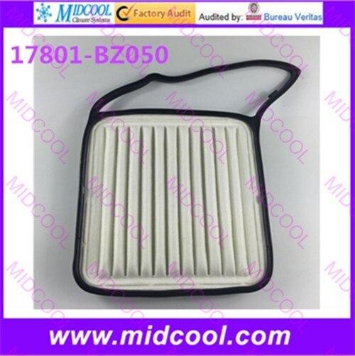 Воздушный фильтр высокого качества 17801-BZ050 17801BZ050, бесплатная доставка
