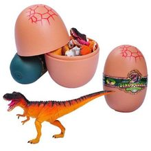 New Kids Creative Assembly of Dinosaur Animal Model Toy Egg in Building Kits