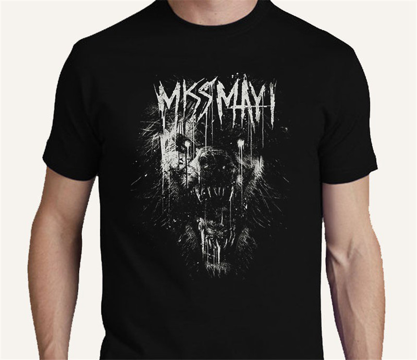 Miss May I Metalcore Band S M L Xl 2xl 3xl T Shirt Tee Monument Print T Shirt Mens Short Sleeve Bodybuilding image