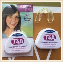 Original T4A Dental Orthodontic Appliances Myofunctional good quality original t4a red hard phase ii dental orthodontic appliances myofunctional