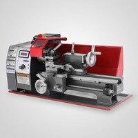 600W Mini Metallo Tornio Lavorazione Dei Metalli Lavorazione Del Legno Da Banco 2500RPM Digitale-in Tornio da Attrezzi su