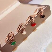 a100dcf4ddde Onyx caliente marca Pure 925 joyas de plata esterlina para las mujeres Fan  anillos Diva Fan Party anillos de calidad superior co.