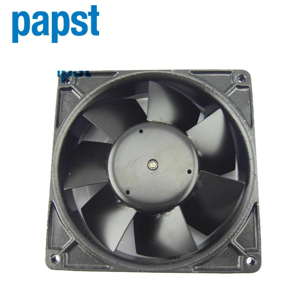 все цены на  ebm papst original inverter fan W2G115-AG71-12 12738 24V 0.5A 12W  127*127*38mm  онлайн