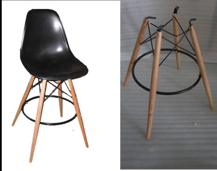 Bar stoel kruk plastic stoel houten plastic side stoel kruk stks