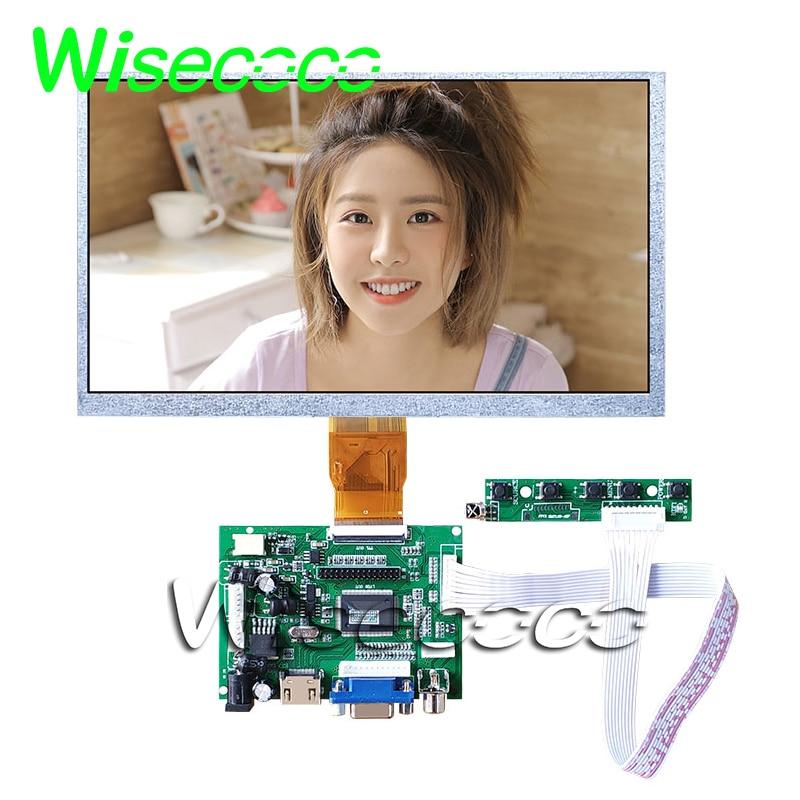 9 inch LCD Display Raspberry Pi LCD Display Screen TFT Monitor AT090TN12 HDMI VGA Input Driver