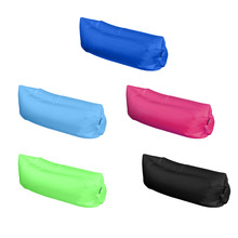 Portable outdoor inflatable sofa lazy inflatable Europe Fast Bag Sleeping Inflatable Sofa Bed Camping Hiking Bed